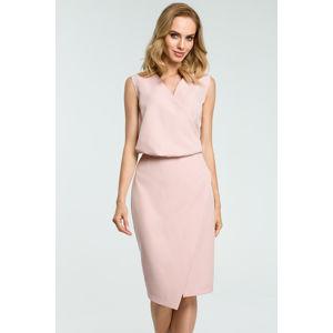 Světle růžové šaty MOE395