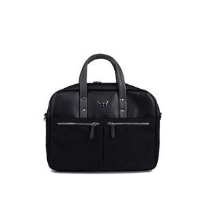 Černá taška na notebook Adilet