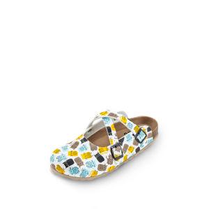 Vícebarevná vzorovaná zdravotní obuv 101005
