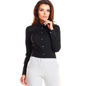 Černá košile A245