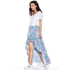 Modro-fialová sukně LG544