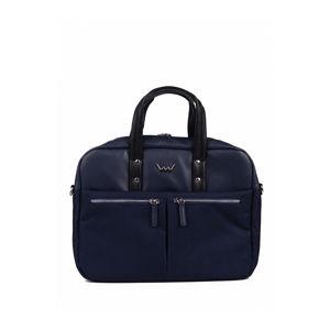 Tmavě modrá taška na notebook Gulnara