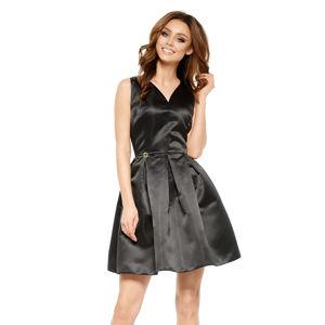 Černé šaty L257