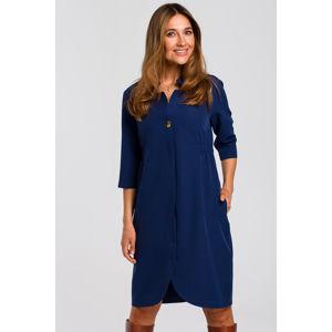 Modré šaty S189