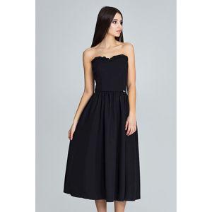 Černé šaty M602