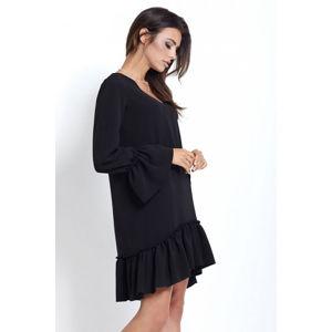 Černé šaty Aurelia