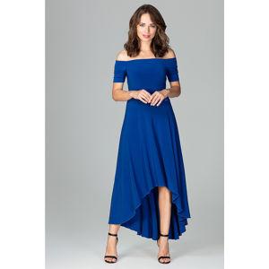 Modré šaty K485