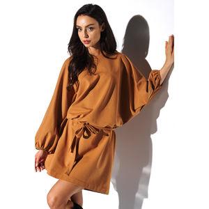Skořicové šaty LN113