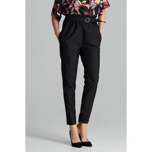 Černé kalhoty L056