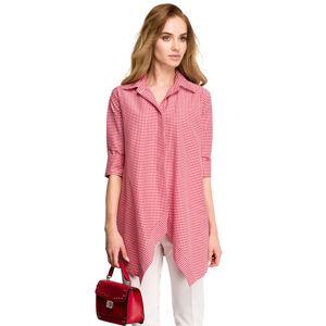 Červeno-bílá košile S106