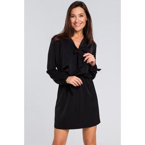 Černé šaty S147
