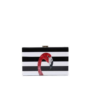 Černo-bílá kabelka 18422