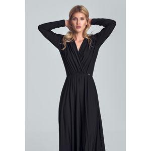 Černé šaty M705