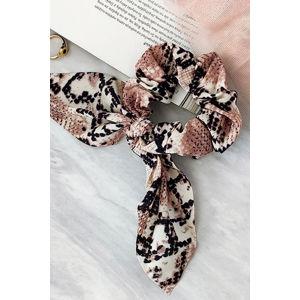 Gumička do vlasů s hadím vzorem Sia