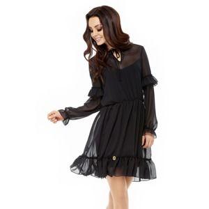 Černé šaty L240