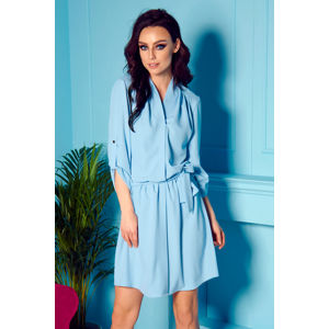 Světle modré šaty L300
