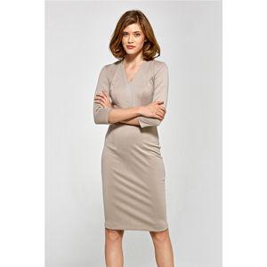 Béžové šaty CS17