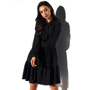 Černé šaty L319