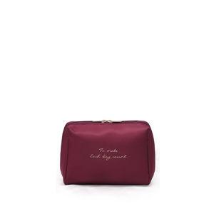 Bordová kosmetická taška Mavis