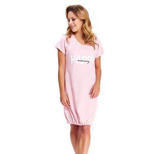 Světle růžová noční košile TCB9504