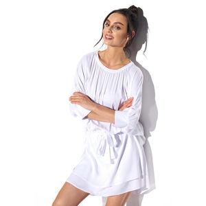 Bílé šaty L325
