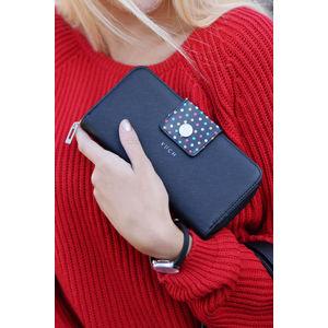 Černá peněženka Judy Jasmine