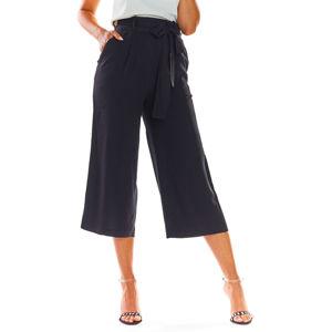Černé kalhoty A297