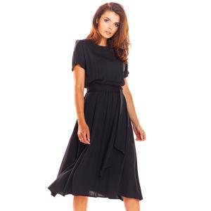 Černé šaty A296