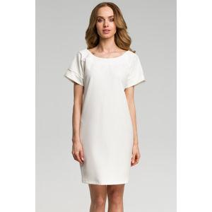 Smetanové šaty M380