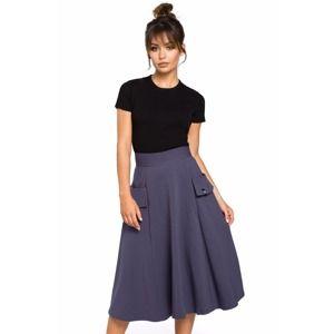 Modrá sukně BE 046