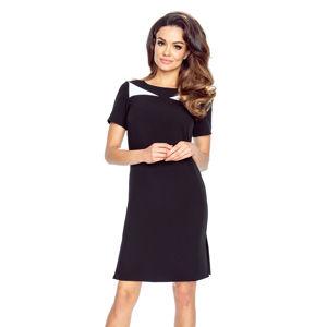 Černé šaty Nadia