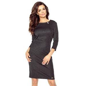 Černé šaty Tesso