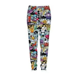Vícebarevné kalhoty CP-017