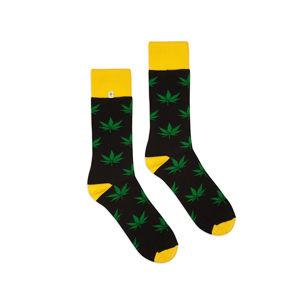 Černo-žluté ponožky Funny