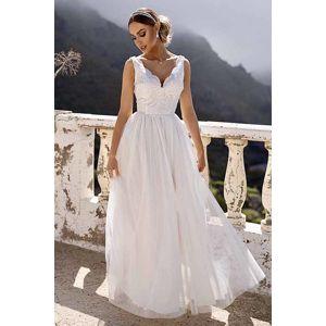 Bílé šaty Chiara