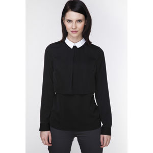Černá košile ABK0059