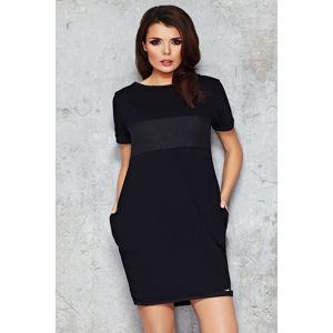 Černé šaty M043