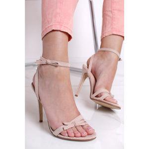 Béžové sandály Levina
