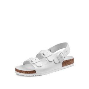 Dámské bílé sandály Barea 040462
