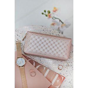 Světle růžová peněženka Edna