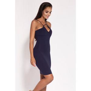 Tmavě modré šaty Sila