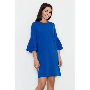 Modré šaty M564