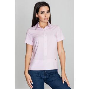 Světle růžová košile M548