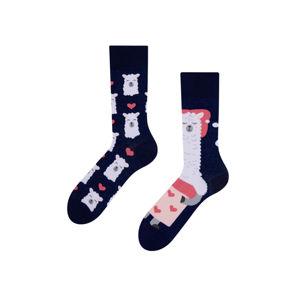 Vícebarevné ponožky Good Night Lama