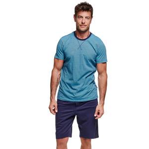 Pánské modro-tyrkysové pyžamo Verve II