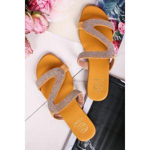 Žluté pantofle Ellis
