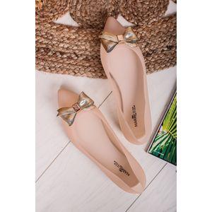 Béžové balerínky Alexia