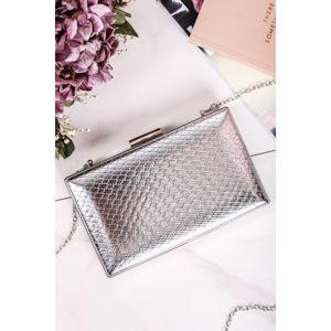 Stříbrná kabelka Caroline