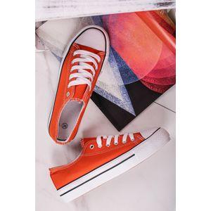 Oranžové tenisky Sabrine