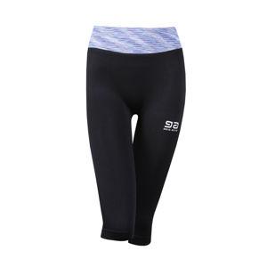 Černo-modré tříčtvrteční legíny Gatta Fitness Leggings